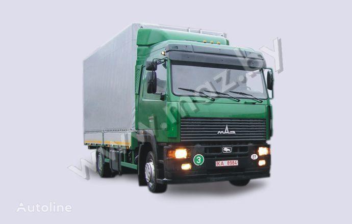 φορτηγό μουσαμάς MAZ 5340A8