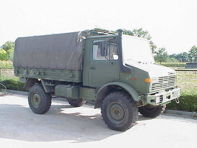 φορτηγό μουσαμάς MERCEDES-BENZ UNIMOG 435/1300L