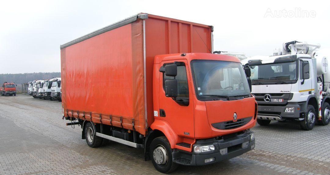 φορτηγό μουσαμάς RENAULT KERAX 220