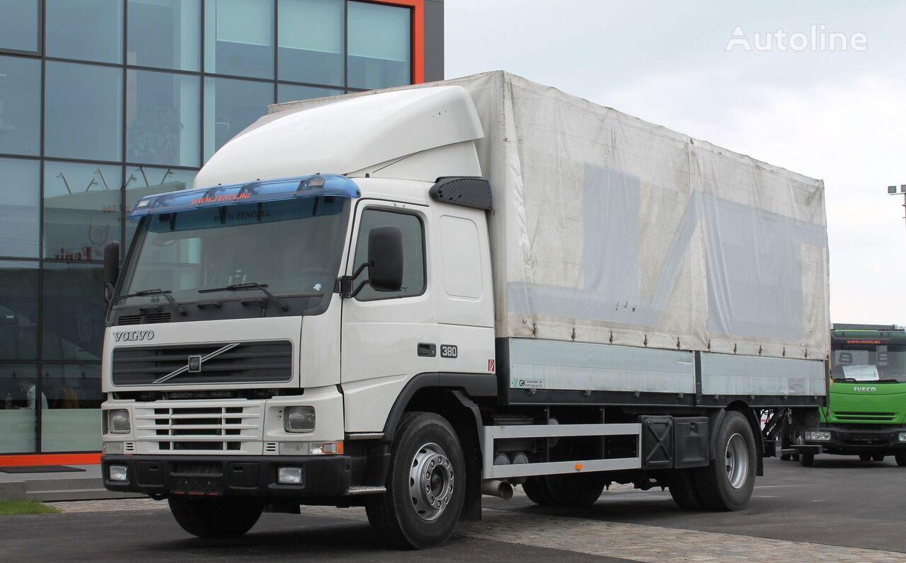 φορτηγό μουσαμάς VOLVO FM12-380, Bord