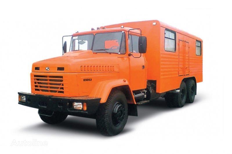 φορτηγό στρατιωτικό KRAZ 65053 masterskaya