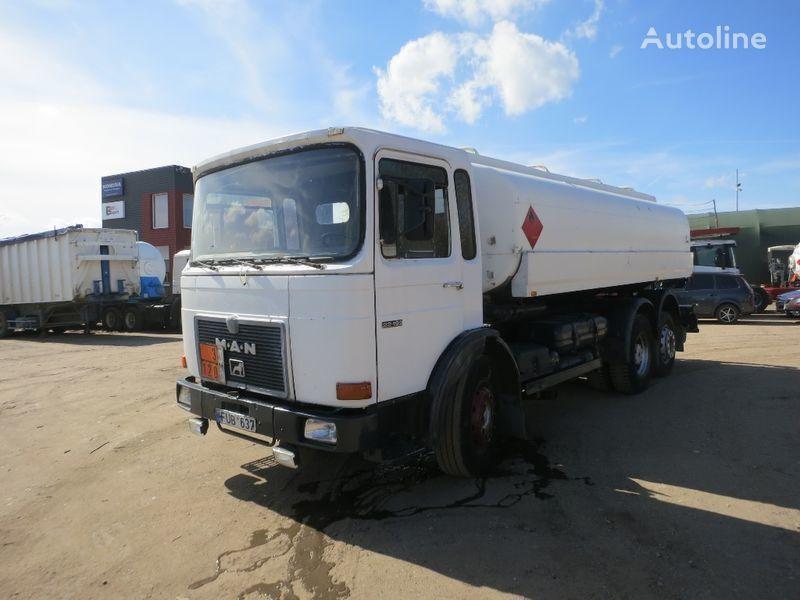 βυτιοφόρο φορτηγό μεταφοράς καυσίμου MAN 22.192