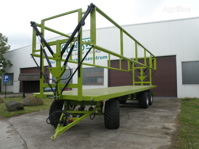 καινούρια αγροτική ρυμούλκα CONOW BTW V 9 Ballen-Transportwagen