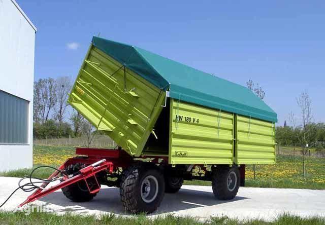 καινούρια αγροτική ρυμούλκα CONOW HW 180 Zweiseiten-Kipper V 4