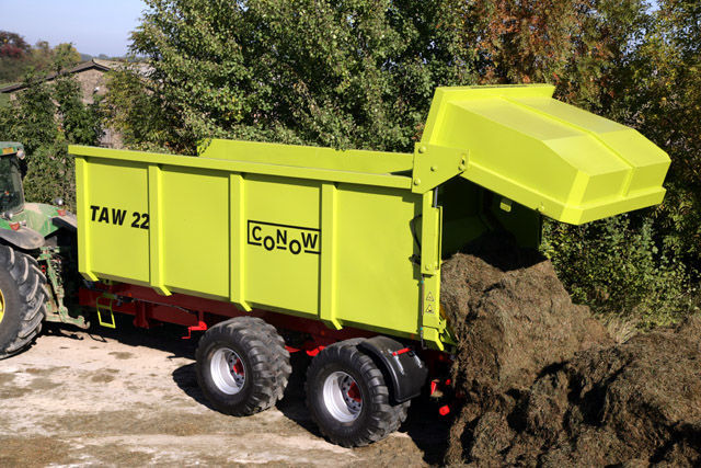 καινούρια αγροτική ρυμούλκα CONOW TAW 22