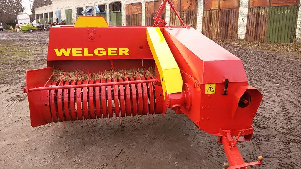 χορτοδετική μηχανή WELGER AP 41