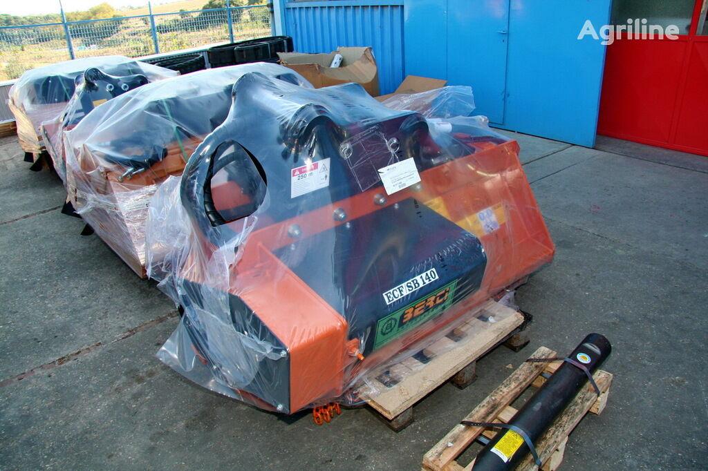 μηχανή τεμαχισμού με οριζόντιο άξονα ECF-SB140
