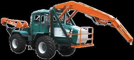 τροχοφόρο τρακτέρ HTA-200-BKM