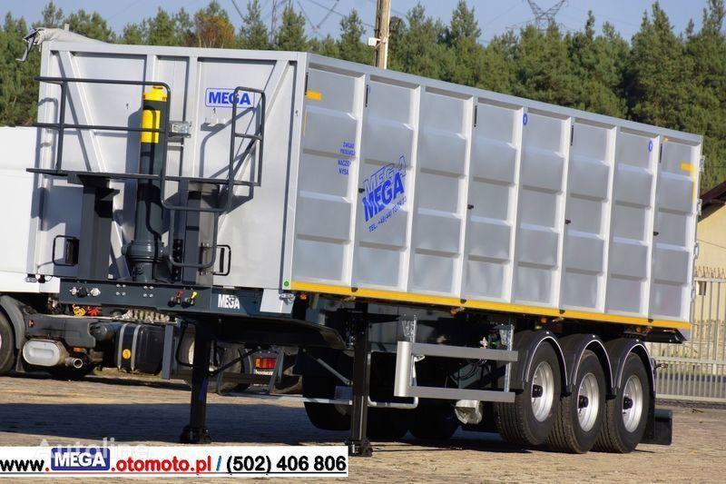 καινούριο ημιρυμουλκούμενο ανατροπής MEGA 10,4 M(L) / 50 M³ DOMEX/OPTIM 650 TIPPER - SCRAP DOOR - READY !