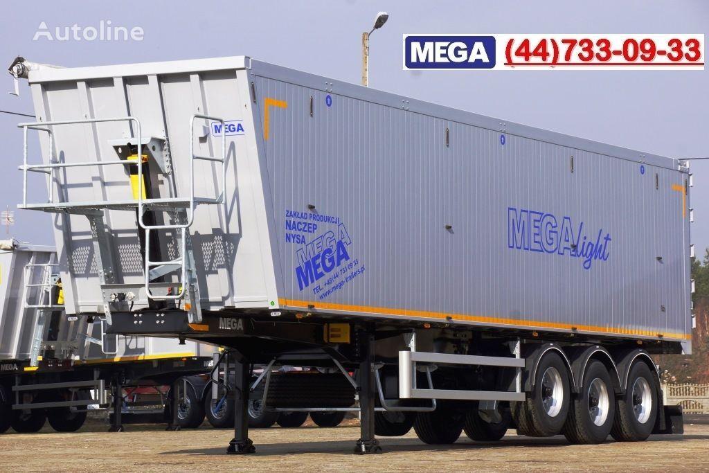 καινούριο ημιρυμουλκούμενο ανατροπής MEGA 10,4 m / 55 M³ ALUM TIPPER