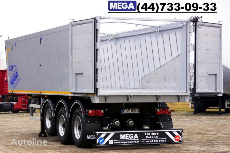 καινούριο ημιρυμουλκούμενο ανατροπής MEGA 39/8360KD- camosval 39 kbm, alyuminievyy, klapan-dverey GOTOV!