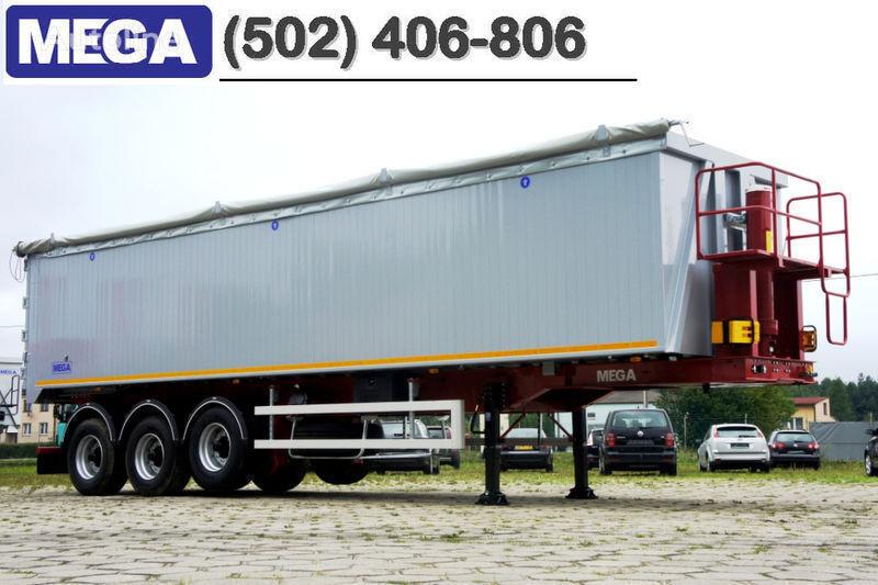καινούριο ημιρυμουλκούμενο ανατροπής MEGA 50/11300 KD - camosval 50 kub., pama k tyagachu 6x4, VYSOTA 3,00 m