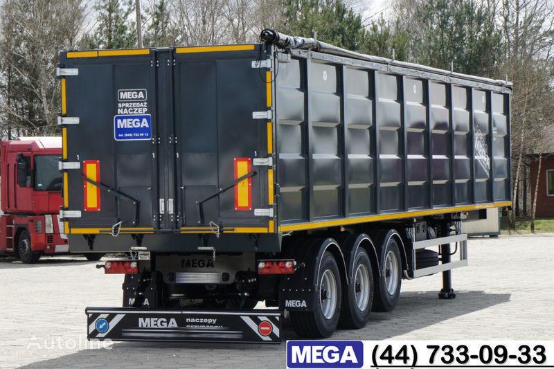 καινούριο ημιρυμουλκούμενο ανατροπής MEGA 55 M³ DOMEX/OPTIM 650 STEEL TIPPER / HATCH-DOOR & GRAINHOLES !!
