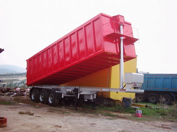 καινούριο ημιρυμουλκούμενο φορτηγό μεταφοράς σιτηρών VARZ NPS 2750
