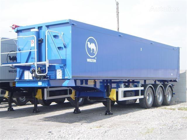 καινούριο ημιρυμουλκούμενο φορτηγό μεταφοράς σιτηρών WIELTON NW - 3 (50m3)