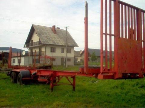 ημιρυμουλκούμενο μεταφοράς ξυλείας IWTHL SCHLUTUP FS 4020