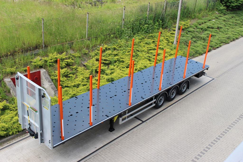 καινούριο ημιρυμουλκούμενο μεταφοράς ξυλείας ZASLAW TRAILIS 651.NL.13.PK[without stakes]