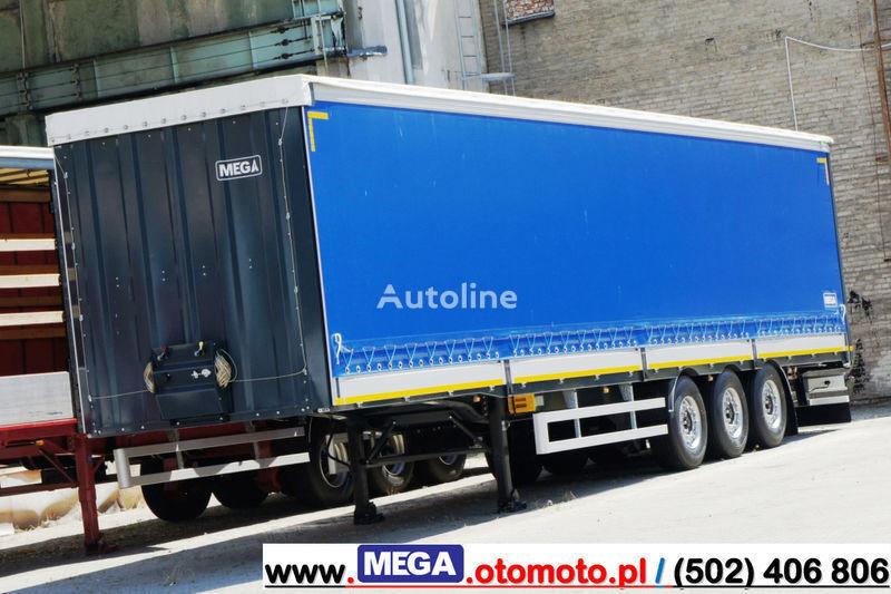 καινούριο κουρτίνα πλευρά ημιρυμουλκούμενο MEGA 3 AXEL CURTAINSIDER / ALUSIDES H=600 MM/ READY !