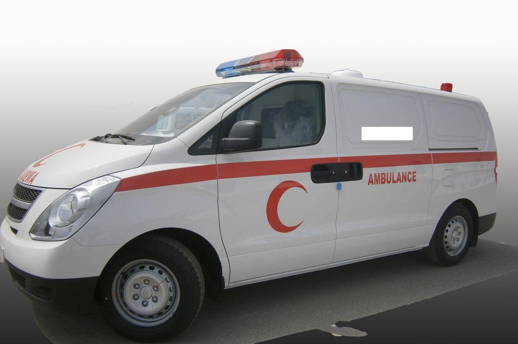 καινούριο ασθενοφόρο HYUNDAI H1 Petrol
