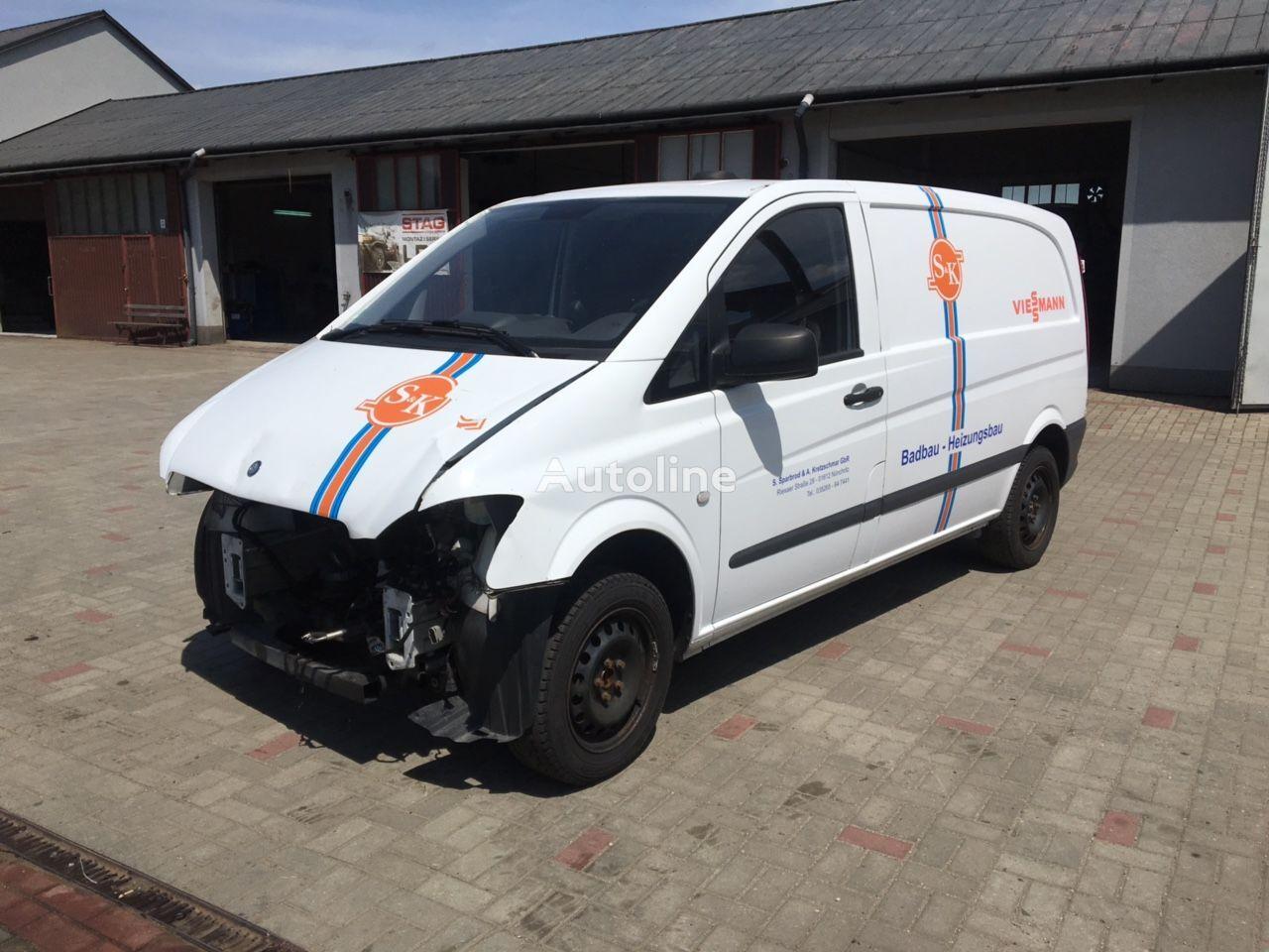 μίνι φορτηγό κόφα MERCEDES-BENZ VITO 113 μετά απο τρακάρισμα