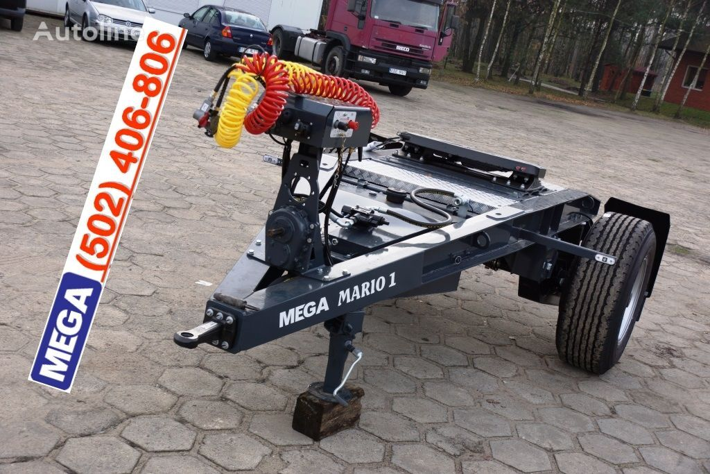 καινούριο ρυμουλκούμενο dolly MEGA 1 Achse Dolly fur Kipper / Hydraulik Pumpe / FERTIG