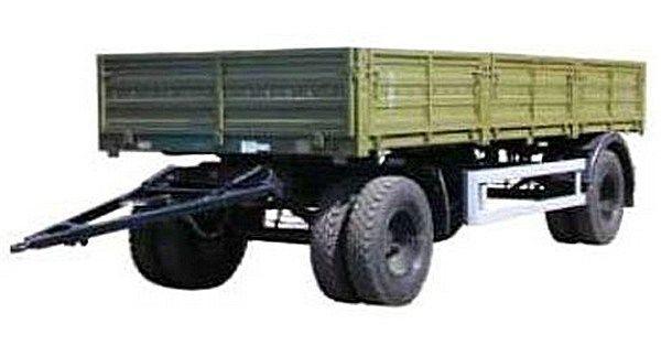 καινούριο ρυμουλκούμενο καρότσα KAMAZ SZAP-8355