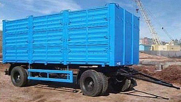 καινούριο ρυμουλκούμενο καρότσα KAMAZ SZAP-8357-02/030