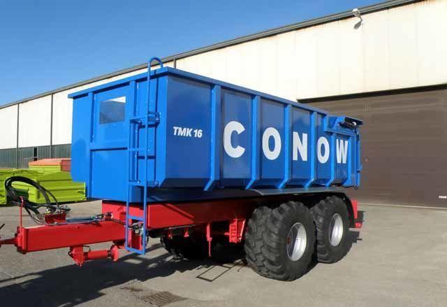 καινούριο ρυμουλκούμενο μεταφοράς σιτηρών CONOW Tandem-Dreiseitenkipper (TMK 16)