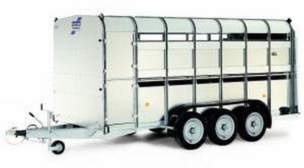 ρυμουλκούμενο όχημα μεταφοράς ζώων IFOR Williams TA510T