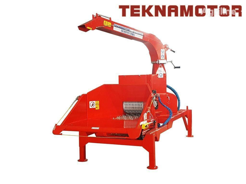 καινούριο τεμαχιστής κλαδιών TEKNAMOTOR Skorpion 250 EG