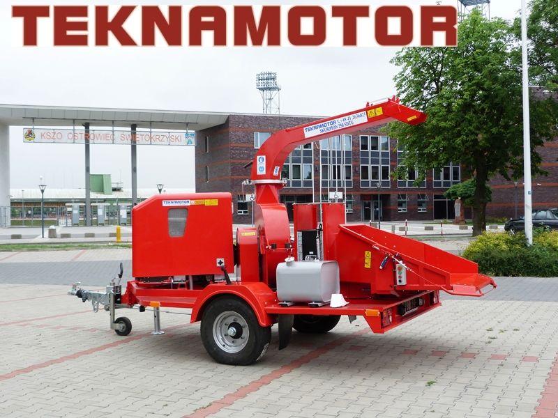καινούριο τεμαχιστής κλαδιών TEKNAMOTOR Skorpion 250 SDT/G