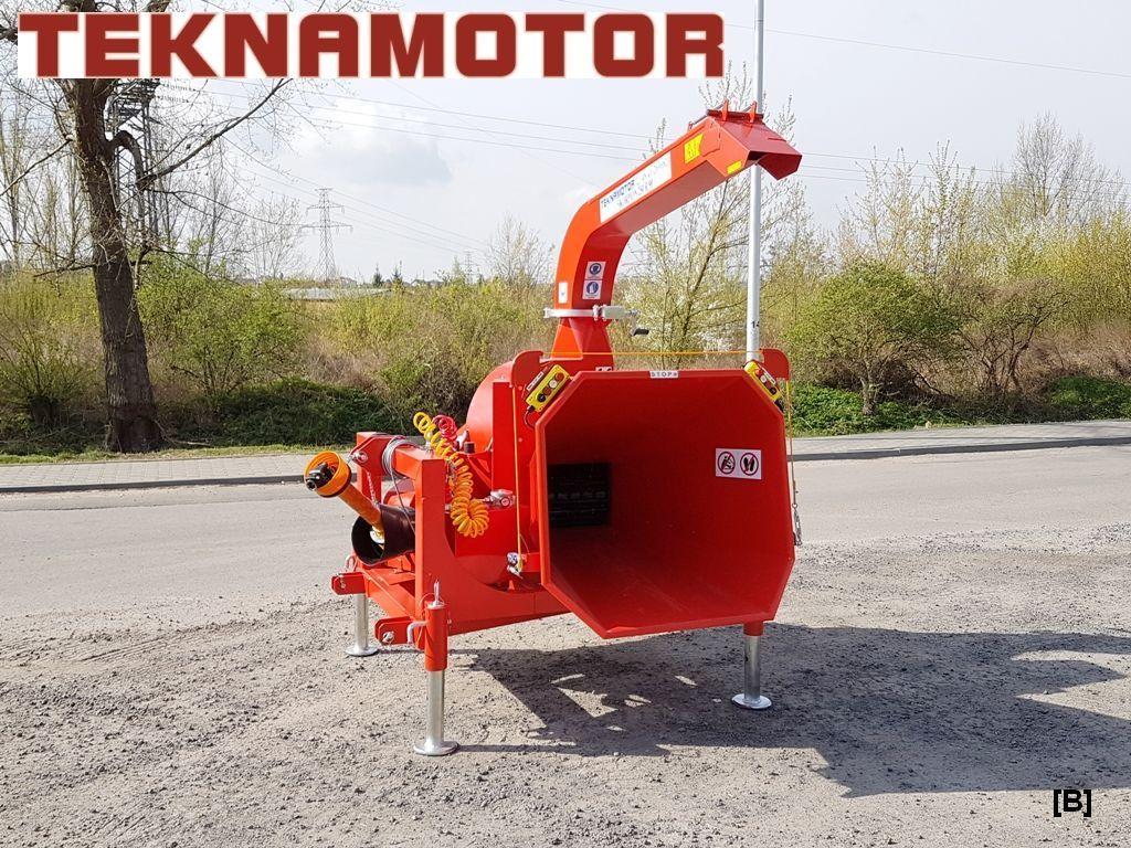 καινούριο τεμαχιστής κλαδιών TEKNAMOTOR Skorpion 250R/90